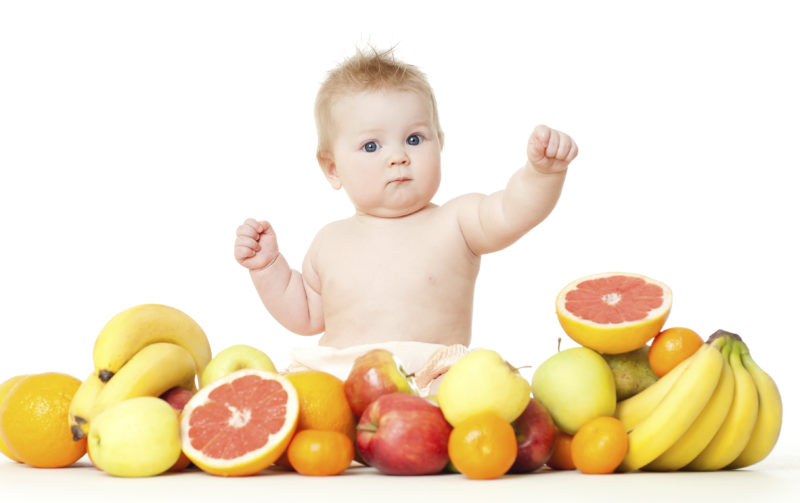 fruits alimentation bebe